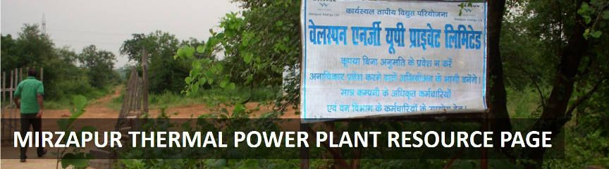 Mirzapur Thermal Power Resource Page- Welspun Energy