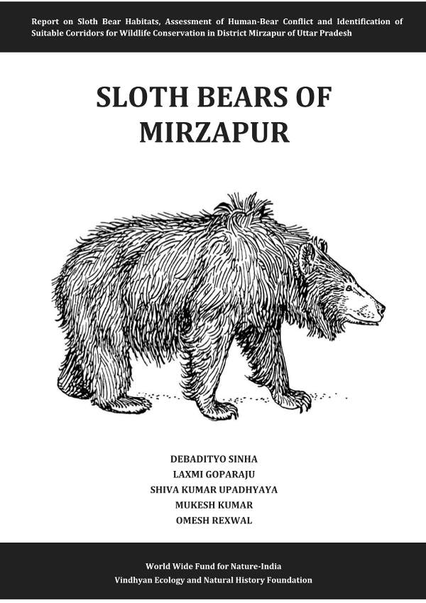 Front Cover Sloth Bears Mirzapur